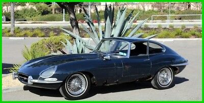 1967 Jaguar E-Type Series 1 Coupe TIME CAPSULE 1967 ETYPE S1 FHC 1 DOCUMENTED OWNER STORED 42 YEARS 97K ORIG MILES