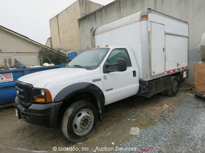 2007 Ford F-550  Ford F550 Cargo Box Truck Air Conditioning AM/FM 4X4 4WD - Parts/Repair