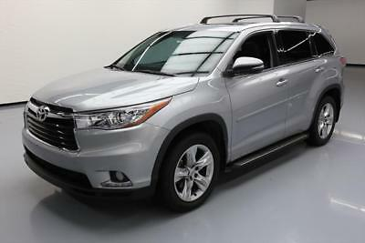 2014 Toyota Highlander Limited Sport Utility 4-Door 2014 TOYOTA HIGHLANDER LTD 7PASS SUNROOF NAV REARCAM 8K #024369 Texas Direct