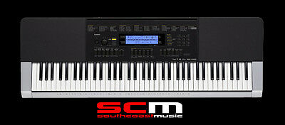 CASIO WK240 76 NOTE ARRANGER KEYBOARD & ADAPTOR BRAND NEW with 5 YR WARRANTY