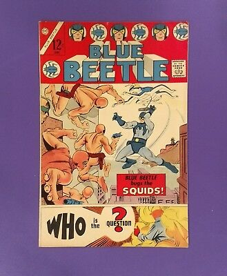 Blue Beetle #1, 1967, Charlton First Appearance of The Question!!!  VF+