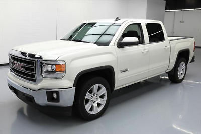 2015 GMC Sierra 1500 SLE Crew Cab Pickup 4-Door 2015 GMC SIERRA 1500 TEXAS CREW 6-PASS REAR CAM 34K MI #293966 Texas Direct Auto