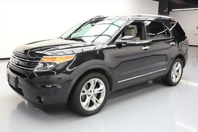 2014 Ford Explorer Limited Sport Utility 4-Door 2014 FORD EXPLORER LIMITED LEATHER REAR CAM 20'S 60K MI #A70234 Texas Direct