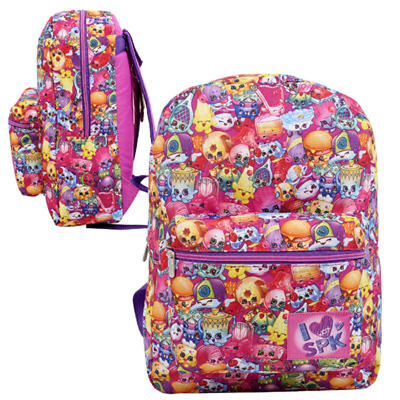 SPK SHOPKINS SCHOOL 16\' Backpack Kids Girls