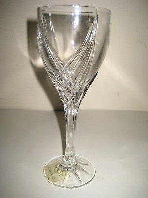 """Lenox Debut Wine Crystal Glass 7 1/2"""" Made in Germany."""