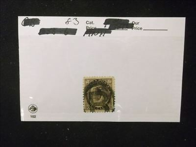 6803 Canada Used Stamp Pack #83