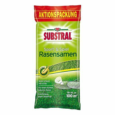 SUBSTRAL Lawn Seed Sport and Game 2 Kg Sports Lawn Seeds Lawn Play Lawn