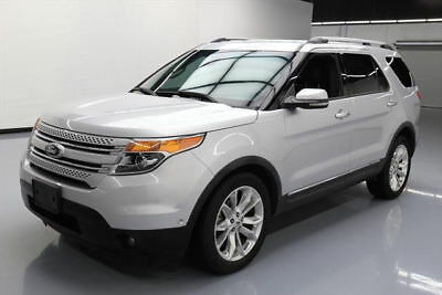 2013 Ford Explorer Limited Sport Utility 4-Door 2013 FORD EXPLORER LTD NAV CLIMATE LEATHER 20'S 64K MI #A58745 Texas Direct Auto