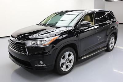2016 Toyota Highlander  2016 TOYOTA HIGHLANDER LTD PANO ROOF VENT SEATS NAV 26K #151106 Texas Direct