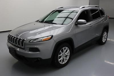 2016 Jeep Cherokee  2016 JEEP CHEROKEE LATITUDE REAR CAM ALLOY WHEELS 25K #177650 Texas Direct Auto