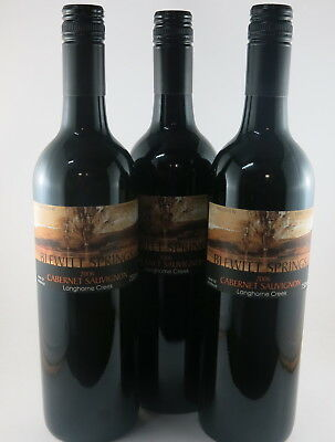 3 x Hillsview Langhorne Creek Cabernet Sauvignon 2006 Red Wine