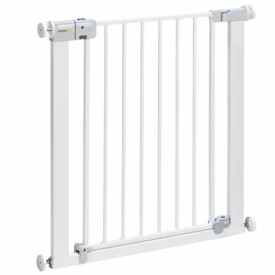 Puerta de Seguridad Barrera 73 cm Metal Blanco Safety 1st Auto-Close 24484310#