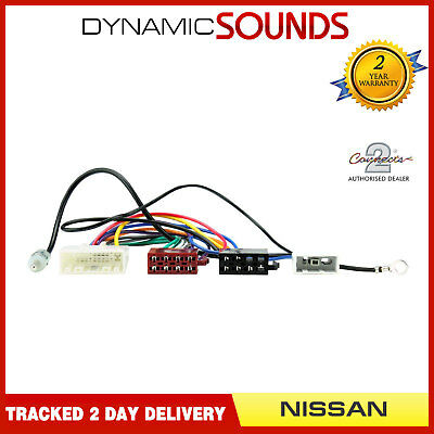 CT20NS06 Car Stereo ISO Harness Adaptor Wiring Loom for Nissan Juke, Qashqai