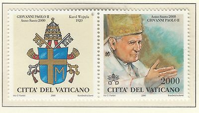 VATICAN 2000 Popes Holy Year 3rd Series 2000L  MUH