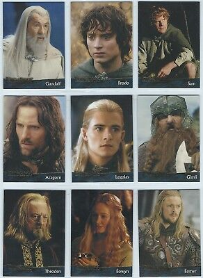 2003 Topps Lord of the Rings LOTR Return of the King / Update 1-162 Card Set