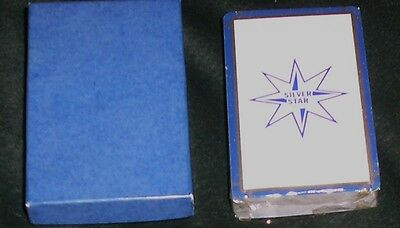 Sealed New Deck Playing Cards Silver Star Meat White  Pittsburgh Pa