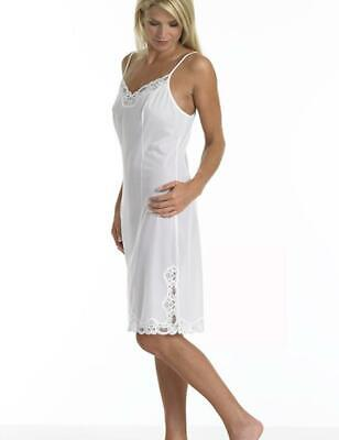"Brettles 39"" Full Length Slip Spaghetti Shoulder - Ladies Full Length Underskirt"
