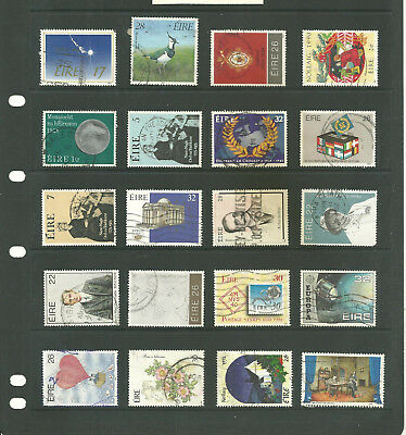 Eire 3 stock sheets mix collection stamps for the collector