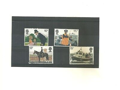 GB 1979   150th Anniversary Metropolitan Police        set of 4 used stamps
