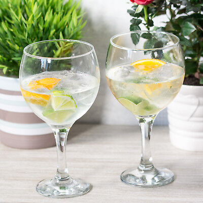 65cl Gin & Tonic Balloons Glasses Cocktail Wine Champagne Spirit Tumblers Flutes
