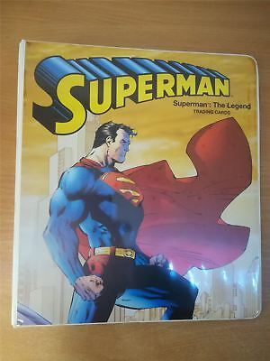 DC Superman The Legend Official Cryptozoic Binder