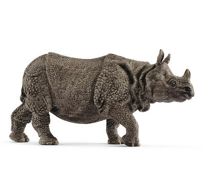 Schleich 14816 Indian Rhinoceros Toy Rhino Wild Animal Model 2018 - NIP