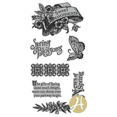 Graphic 45 ~ SWEET SENTIMENTS ~ Stamp Set 1