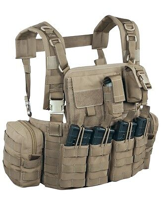 Warrior Assault System Elite 4 Chest Rig 901 Army 5.56 US M4 Combat Weste coyote