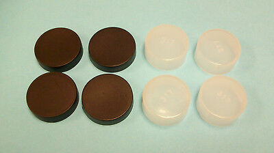 """Caps For 1.25"""" Telescope Eyepieces - Set Of 8 - Free Shipping"""