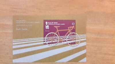 Isle Of Man -London Olympic Games - New - Stamps 2012