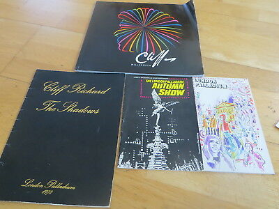 Cliff Richard and The Shadows - 2 programmes, 2 souvenirs
