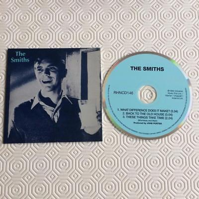 The Smiths CD Single Card Sleeve What Difference Does It Make?/ Back 2Old House