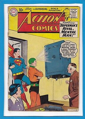 Action Comics #272_January 1961_Good+_Superman_Supergirl_Silver Age Dc!
