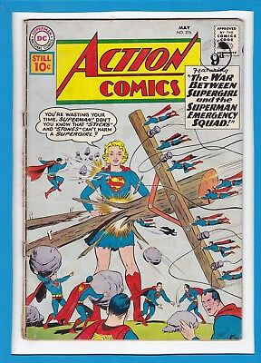Action Comics #276_May 1961_Good/very Good_Superman_Supergirl_Silver Age Dc!