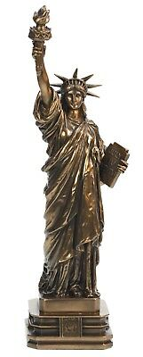Original Veronese Freiheitsstatue Statue of Liberty 32 cm Sonderedition, bronzie