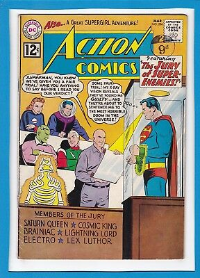 Action Comics #286_March 1962_Very Good+_Superman_Supergirl_Silver Age Dc!