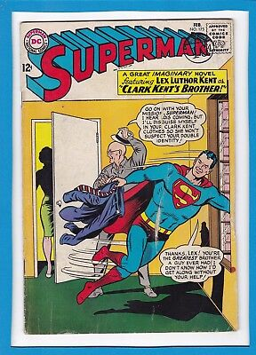 Superman #175_February 1965_Very Good+_Lex Luthor_Silver Age Dc!