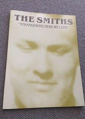 THE SMITHS Strangeways Here We Come paperback 1987 Songbook w/photos