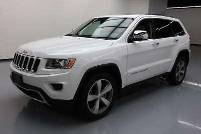 2015 Jeep Grand Cherokee Limited Sport Utility 4-Door 2015 JEEP GRAND CHEROKEE LIMITED SUNROOF NAV 20'S 71K #620572 Texas Direct Auto