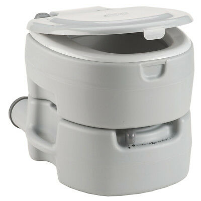 Coleman 2000016503 5.3-Gallon Self-Contained Large Molded Flush Toilet