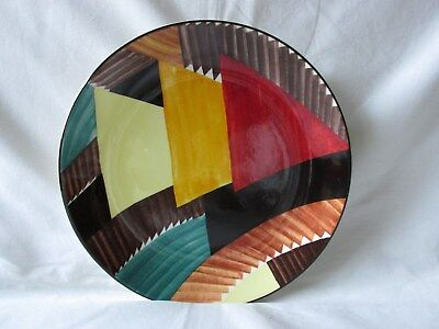 """Wedgwood Susie Cooper The Art Deco Years Pyramids 8"""" Plate"""