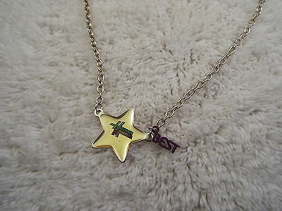 DISNEY Hannah Montana Star Pendant Necklace  (C14)