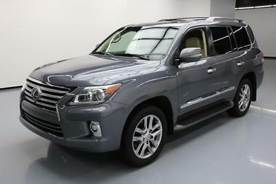 2014 Lexus LX  2014 LEXUS LX570 AWD LUXURY SUNROOF NAV DVD 20'S 44K MI #134307 Texas Direct