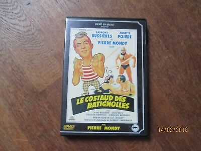 DVD CINEMA RENE CHATEAU le costaud des batignolles bussieres mondy jean richard