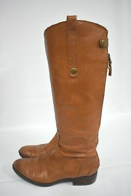 42672c4c6b86 Sam Edelman Women s  Penny  Whiskey Leather Mid-Calf Boots .