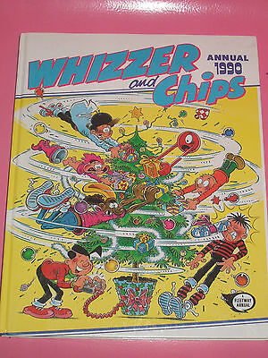 The Whizzer And Chips Book Annual 1990 (Unclipped)