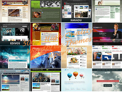 WordPress MEGA 500+ Theme Bundle