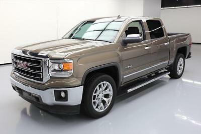 2014 GMC Sierra 1500 SLT Crew Cab Pickup 4-Door 2014 GMC SIERRA SLT CREW TEXAS ED LEATHER NAV 20'S 76K #416490 Texas Direct Auto