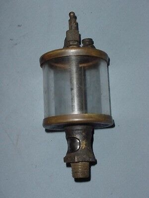 "IHC ""M"" Mogul Hit Miss Gas Engine Cylinder Oiler 2 1/2 3 6 HP McCormick Deering"