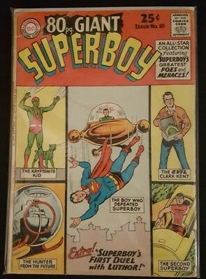 80 Page (Eigty) Giant #10 (Dc) Superboy